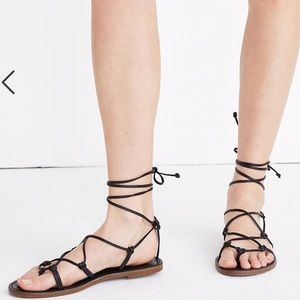 Madewell Shoes - Madewell Boardwalk Lace Up Sandal